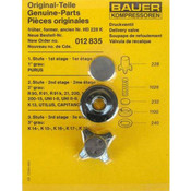 Discharge Valve Kit - Bauer Compressors Maintenance Parts